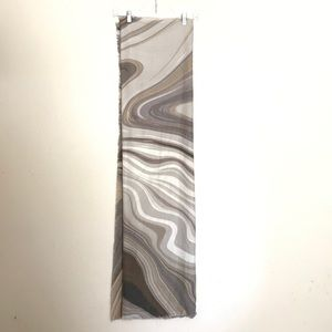 (2for20) Marble Print Blanket Scarf (OS)